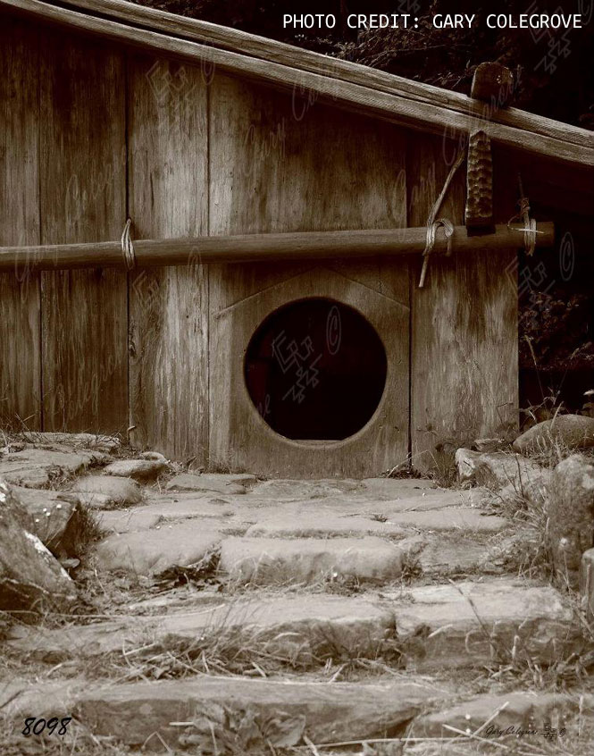 Round Door House