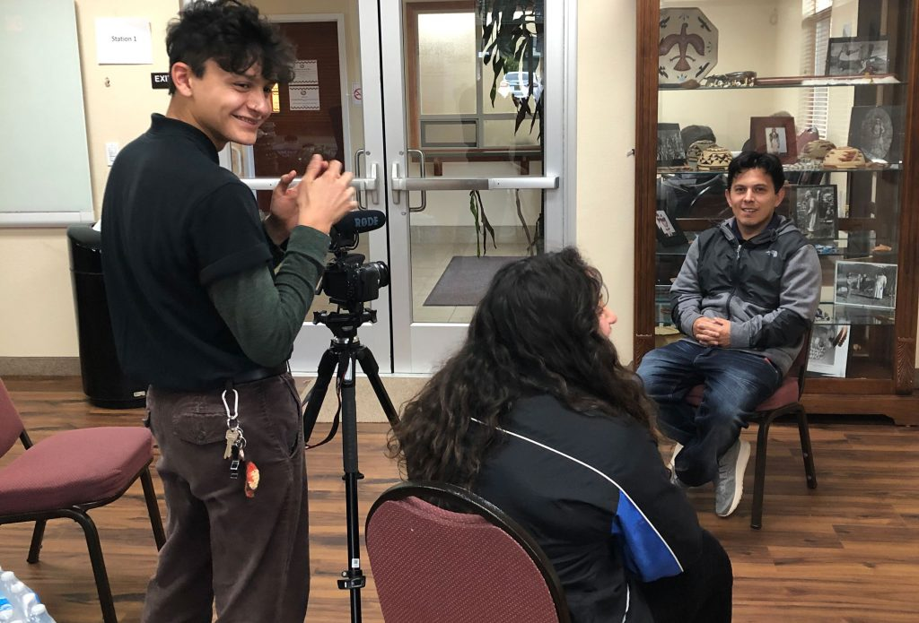 interview videoing